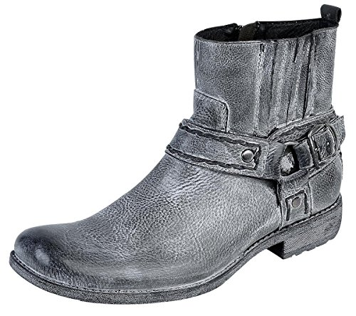 Black Premium by EMP Vintage Spray Boot Anfibi/Stivali nero EU44