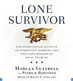 Lone Survivor (Playaway Adult Nonfiction)