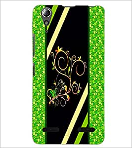 PrintDhaba Pattern D-2692 Back Case Cover for LENOVO A6000 PLUS (Multi-Coloured)