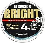 ダイワ(Daiwa) ライン 棚センサーブライト+Si 4.0号  200m