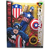 Captain America Uniform & Equipment Captain Action 1/6 Scale Deluxe Costume Set