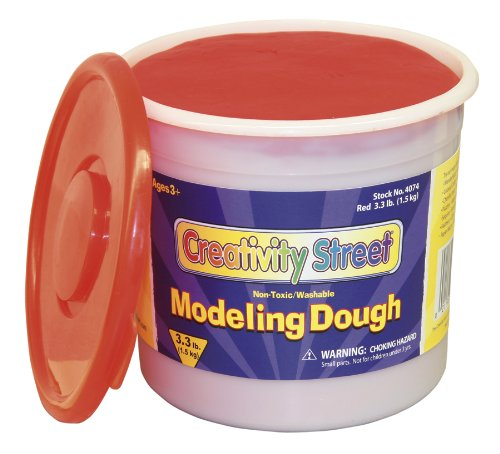 Red Modeling Dough, 3.3 lb