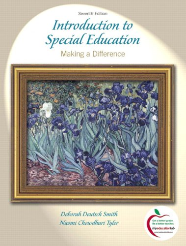 Introduction to Special Education: Making A Difference...