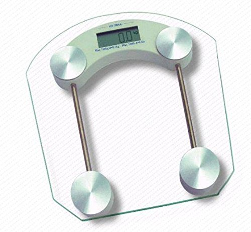 5f0adf0954 Buy Gadgetbucket Square shape 6mm Thick Glass Body Weighing Machine Digital  Glass Bathroom Weight Scale Measurement on Amazon