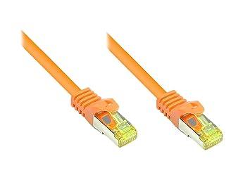 Câble de raccordement secteur RJ45 CAT 7 S/FTP Good Connections - [1x RJ45 mâle - 1x RJ45 mâle] -