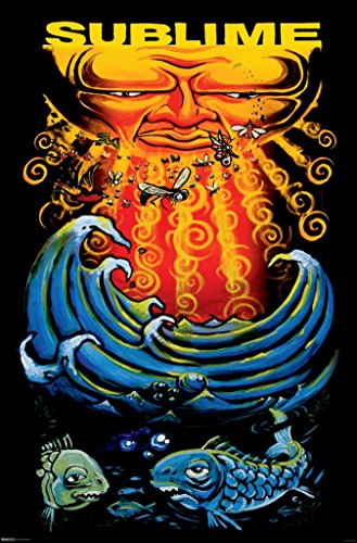 24x36-Sublime-Sun-and-Fish-Music-Poster
