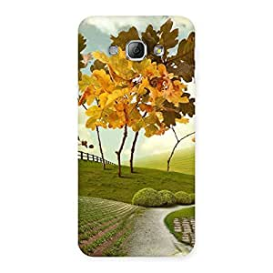 Special Printed Way Back Case Cover for Galaxy A8