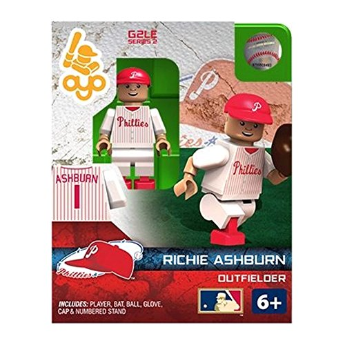 Richie Ashburn MLB Philadelphia Phillies Oyo G2S2 Minifigure - 1