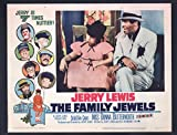 MOVIE POSTER: Family Jewels Lobby Card #1-1965-Jerry Lewis and Miss Donna Butterworth