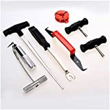 Amdirect Hot Vehicle Disassembly Maintenance Tool 7pcs Auto Windshield Wind Glass Removal Remover Kit