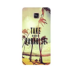 Phone Candy Designer Back Cover with direct 3D sublimation printing for Samsung A5(2016)