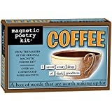 Magnetic Poetry - Coffee Kit - Words for Refrigerator - Write Poems and Letters on the Fridge
