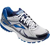 Brooks Mens Adrenaline Running Shoes GTS 13 Color: Wht/Obsdian/Blck/Olmpc/Slvr Size: 11.5