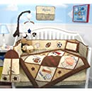 Soho Lets Play Game Baby Crib Nursery Bedding Set 13 Pcs Included Diaper Bag With Changing Pad Bottle Case