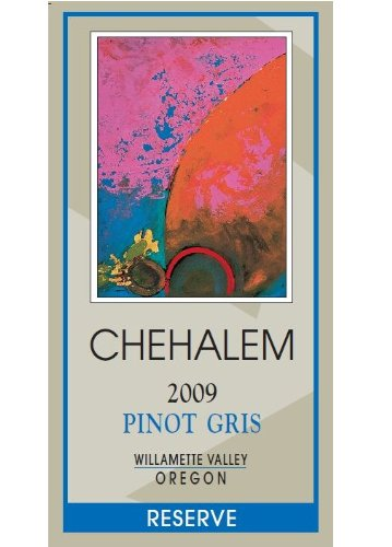 2009 Chehalem Pinot Gris Reserve, Willamette Valley 750 Ml