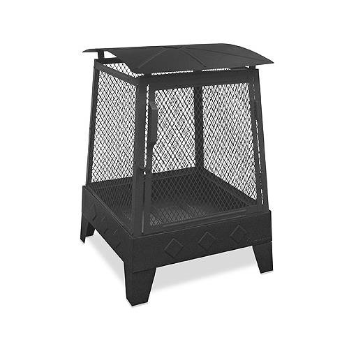 Landmann-Mco-Limited-25334-Outdoor-Fireplace-with-Poker