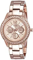 Fossil Stella Multifunction Stainless Steel Women's Watch -ES3590