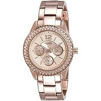 Fossil Stella Multifunction Stainless Steel Women's Watch -ES3590