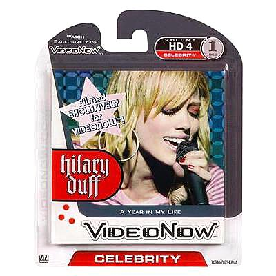 Videonow Personal Video Disc: Volume HD 4 Celebrity  Hilary Duff - A Year in My Life
