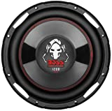 BOSS Audio P100F Phantom 10-inch 1200-watt SINGLE Voice Coil Subwoofer