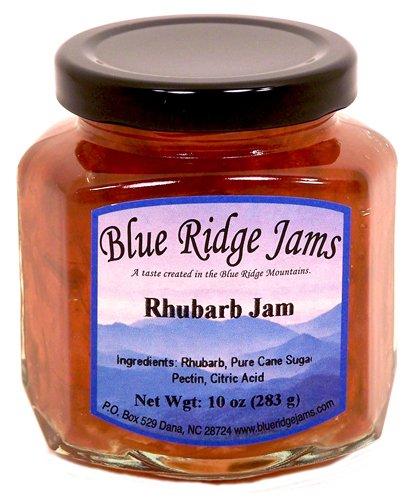Blue Ridge Jams: Rhubarb Jam, Set of 3 (10 oz