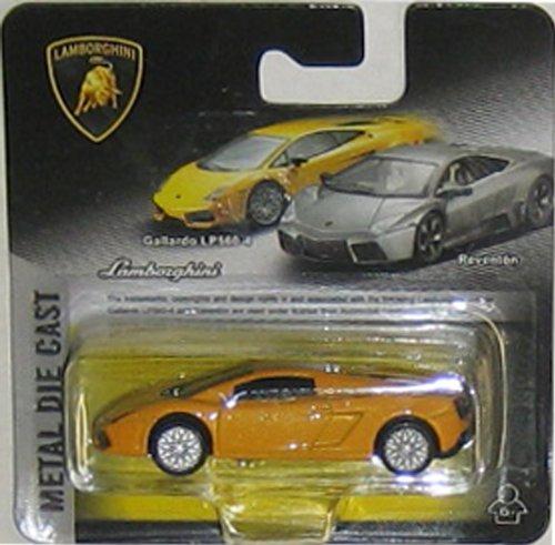 LAMBORGHINI GALLARDO LP 560-4 (yellow) 1:64 Scale Collectible Die Cast Car