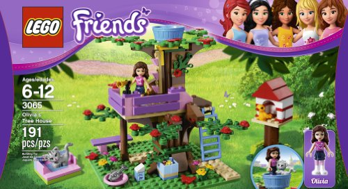 LEGO Friends Olivia's Tree House 3065 Amazon.com