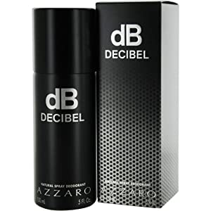 Azzaro Decibel By Loris Azzaro For Men 5.0 Oz Deodorant Spray By Azzaro 150 ml