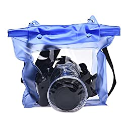 DSLR CAMERA UNIVERSAL WATERPROOF UNDERWATER HOUSING CASE POUCH DRY BAG FOR CANON NIKON SONY PENTAX ...