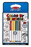 Melissa And Doug On The Go Colour By Numbers Book Blue