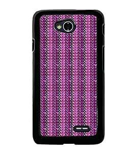 Colourful Pattern 2D Hard Polycarbonate Designer Back Case Cover for LG L70