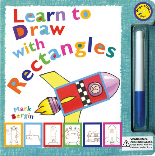 Learn to Draw with Rectangles [With Pens/Pencils]