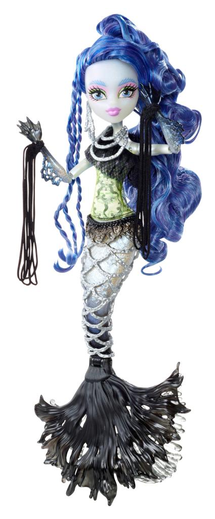 Amazon.com: Monster High Freaky Fusion Sirena von Boo Doll: Toys