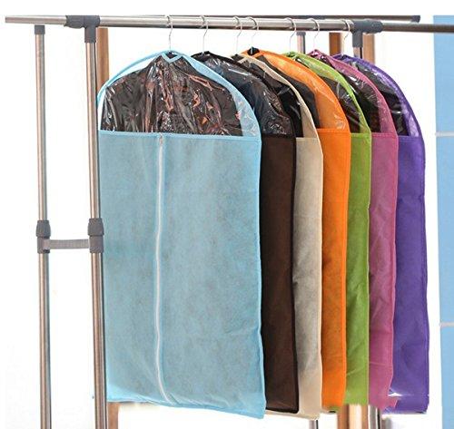 happu-store Cheap Travel Dustproof Cover Bag for Coat Clothes Jacket Suit Dress Storage (Cheap Garment Bag compare prices)