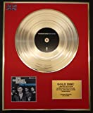 THE GASLIGHT ANTHEM/LTD. EDITION CD GOLD DISC/RECORD/THE '59 SOUND
