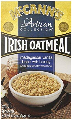 Mccann'S Artisan Collection Instant Oatmeal, Madagascar Vanilla Bean With Honey, 10.7 Ounce, 8 Packets