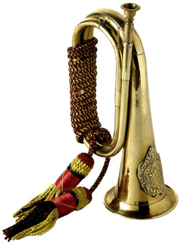 28cm-solid-brass-bugle-with-decorative-cord