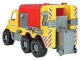 Wader-Wozniak 32606 - City Camión XL Mezcladora de hormigón con giratorio Tambor de mezcla, 46 cm