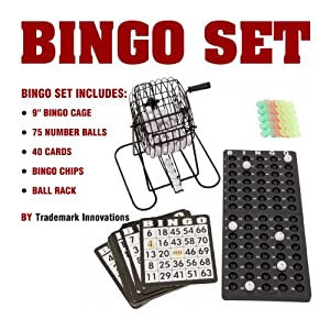 Trademark Innovations Complete Bingo Game Set
