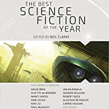 The Best Science Fiction of the Year: Volume One Audiobook by Neil Clarke - editor Narrated by Amy Tallmadge, Jeremy Arthur