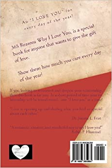 Customized reasons why i love you book