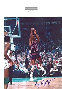 Ray Williams New Jersey Nets Signed 8x10 by Hollywood Collectibles