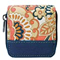 Wellspring Contact Lenses Case w/ Storage Bottle and Mirror Coral Skies Layla