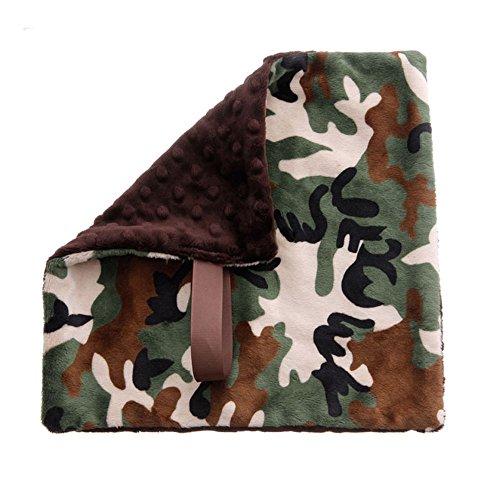BBEmerald Pacifier Blanket, Camo - 1