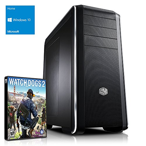 Kiebel Dark Rock XL [184181] Gamer-PC i7-6700K (4x4.0GHz) | 32GB DDR4-2666 HyperX | 500GB SSD + 2TB HDD | nVidia GeForce GTX 1080 8GB GDDR5X | ASUS Z170 Pro Gaming | USB3 | DVD | Sound | LAN | 600W(80+) | Win10