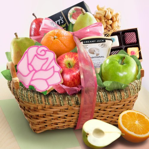 Easter & Spring Savory and Sweet Fruit Basket
