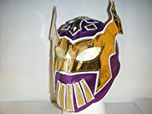 Sin Cara-infantil-máscara de cremallera wresting Deep Purple