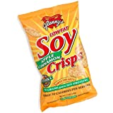 Glenny's Low Fat Soy Crisps, Apple Cinnamon, 1.3-Ounce Bags (Pack of 24) ~ Glenny's