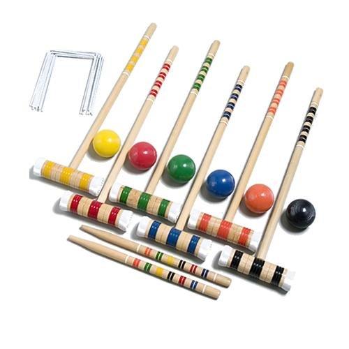 Gamecraft Deluxe Croquet Set