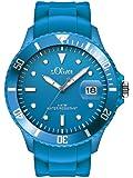 s.Oliver Herren-Armbanduhr XL Analog Quarz Silikon SO-2679-PQ